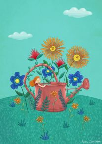 L'arrosoir - The watering can