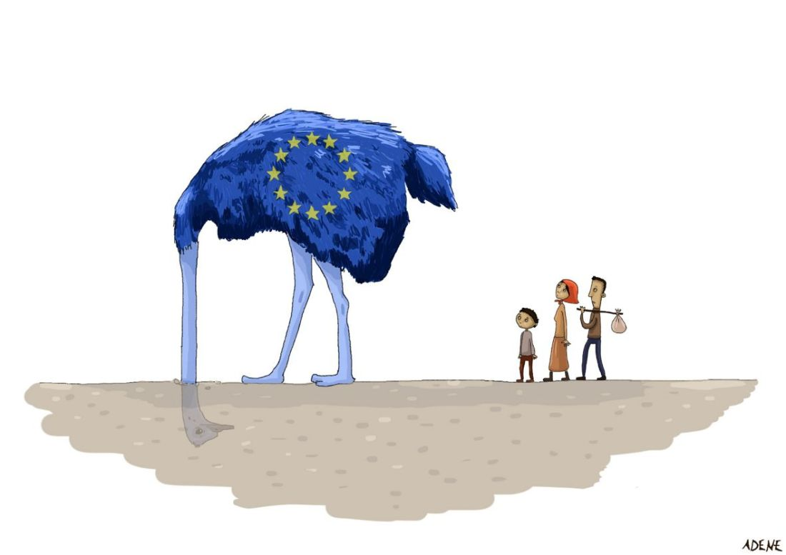 UE aveugle