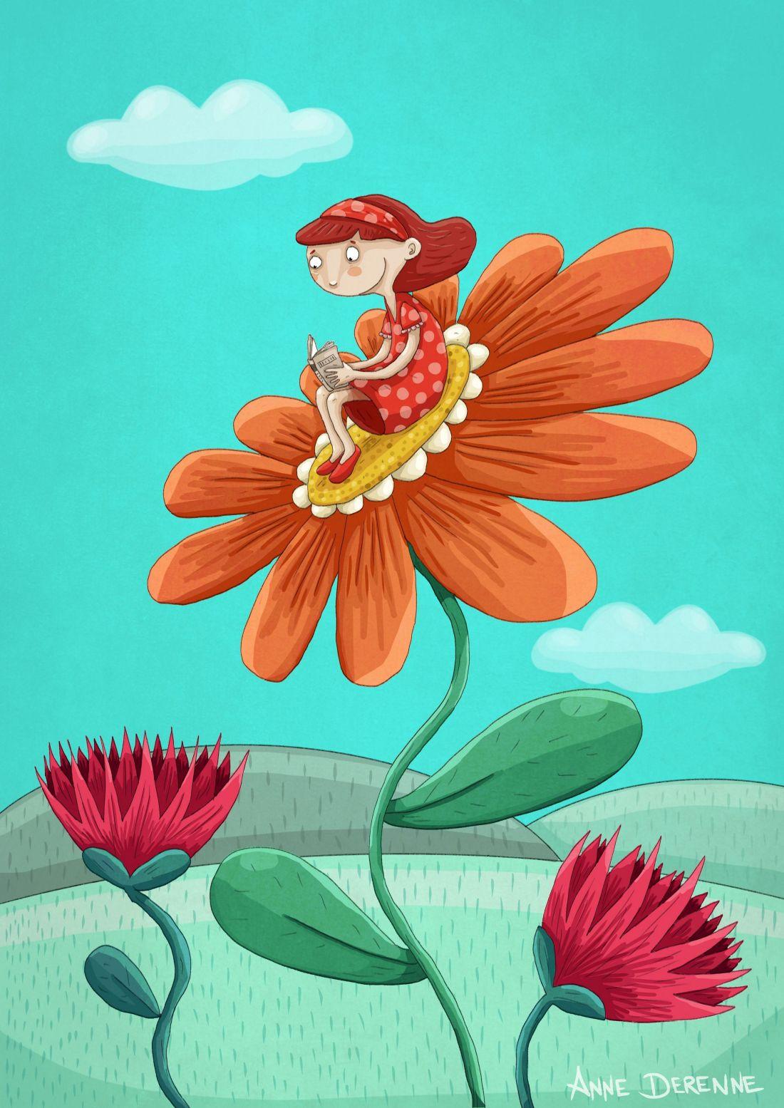 Lecture de printemps - Anne Derenne A4