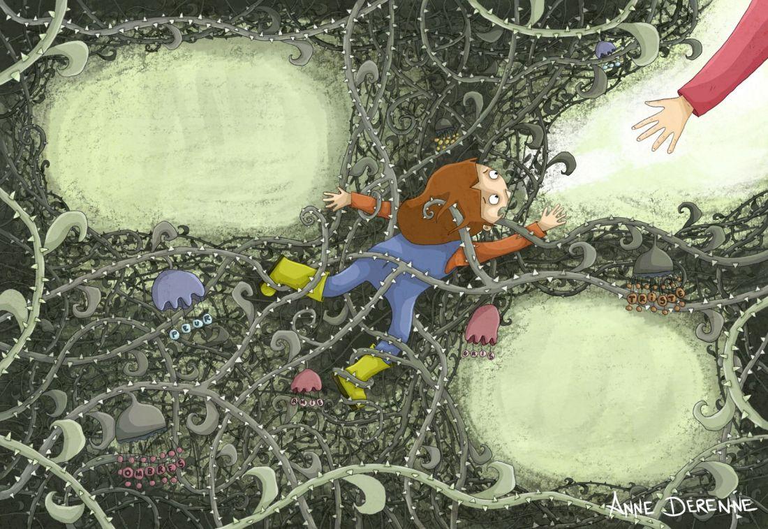 Le jardin des pensées - p14 - MR - Anne Derenne