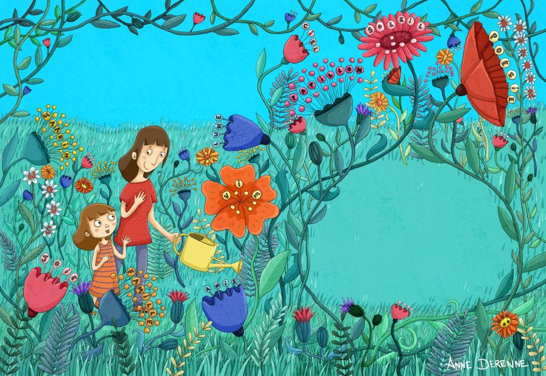 Le jardin des pensées - p3 - MR - Anne Derenne